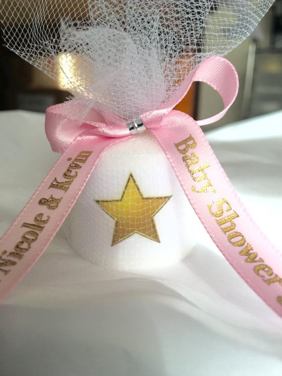 Baby Shower Favors Twinkle Twinkle Little Star Favors Candle