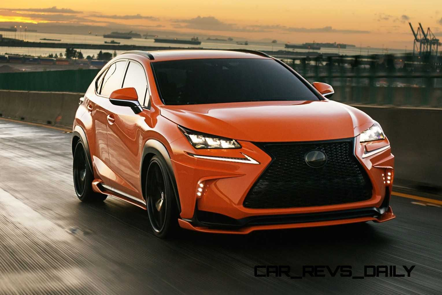 2015 Lexus NX200t F Sport and RC350 Chrome Wrap by 360
