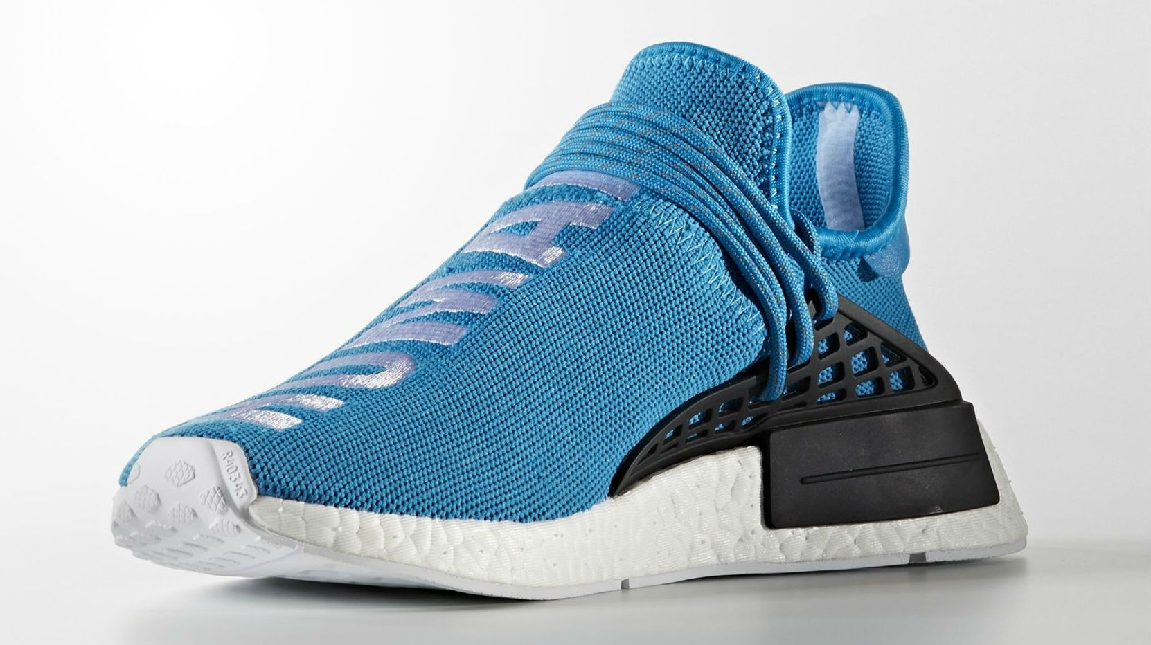 4df359024ed5 Blue Pharrell x Adidas NMD Human Race