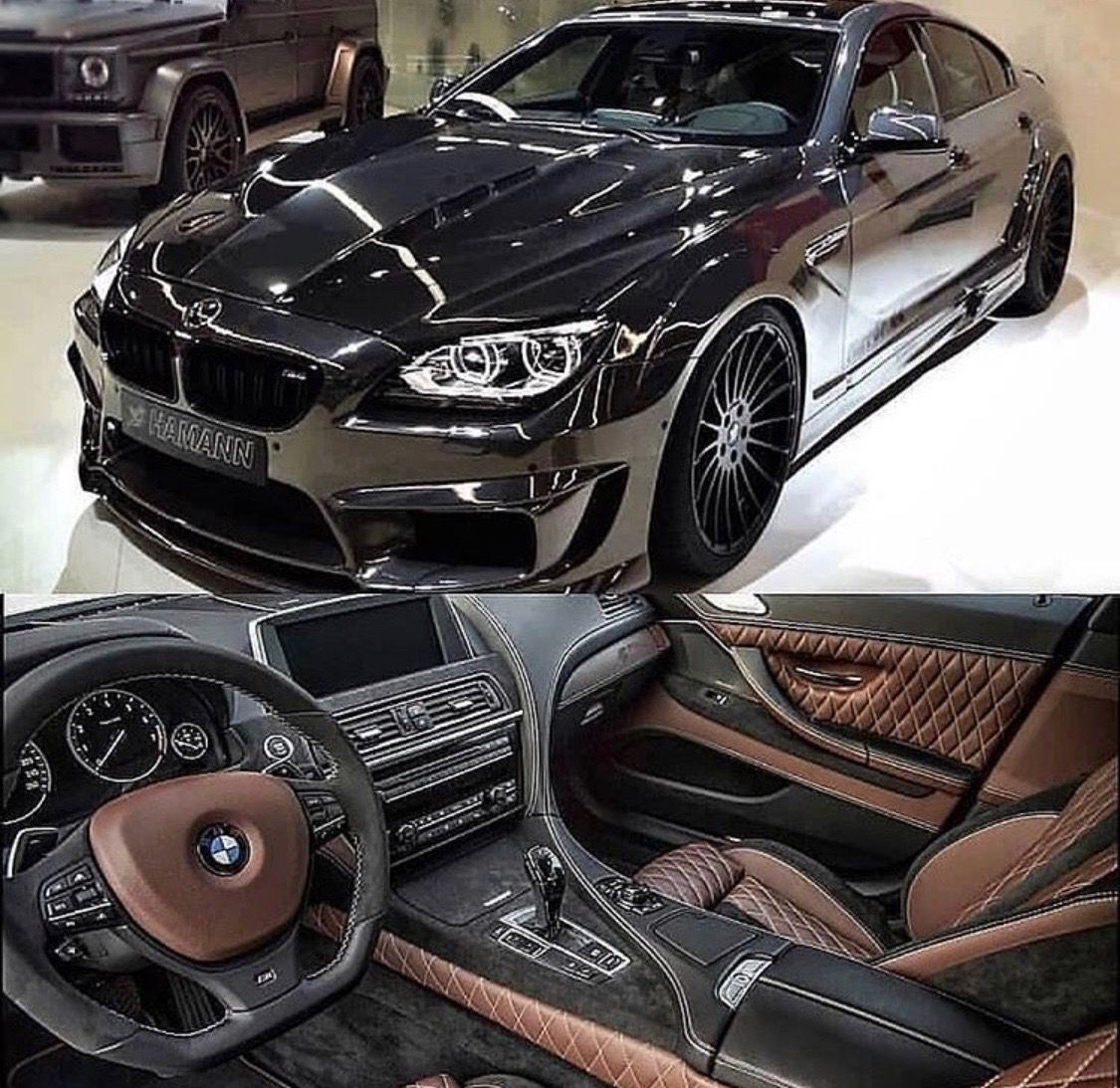 Bmw M6 Gran Coupe Black Chocolate Two Tone Audi Rs Bmw Bmw 650i