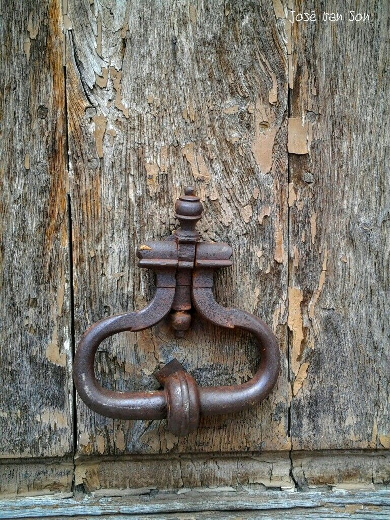Rusty door knocker france doors knockers details gatesfence