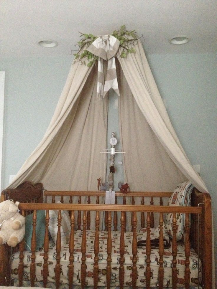 DIY Crib Canopy courtneydonnelly.net : baby crib net canopy - memphite.com