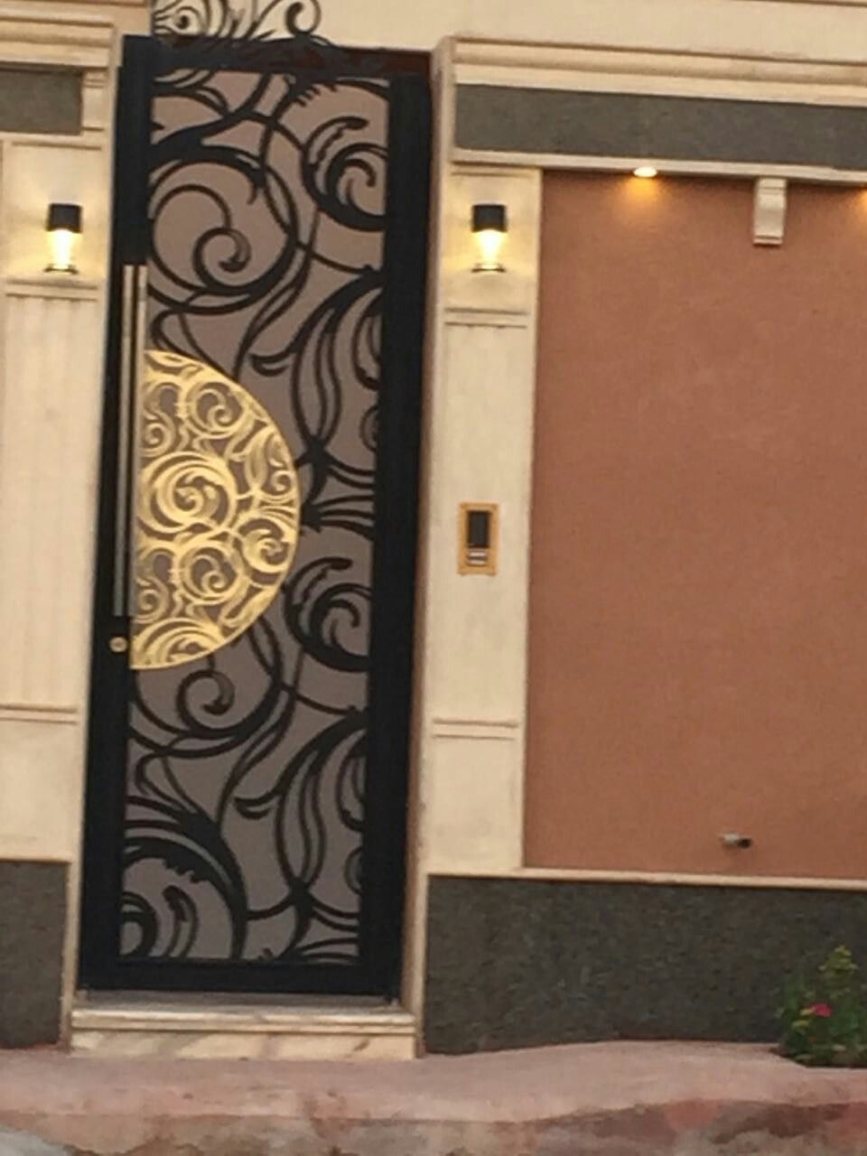 Laser Metal Door Mywork Idesign Lifestyle Door Glass Design Gate Design Iron Doors