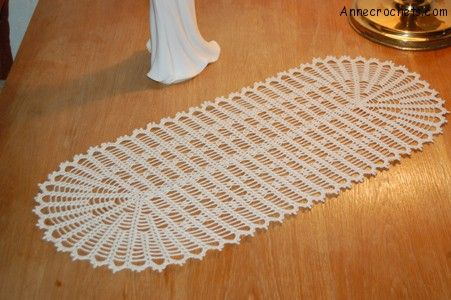 Free Crochet Doily Table Runner Patterns Microfinanceindia