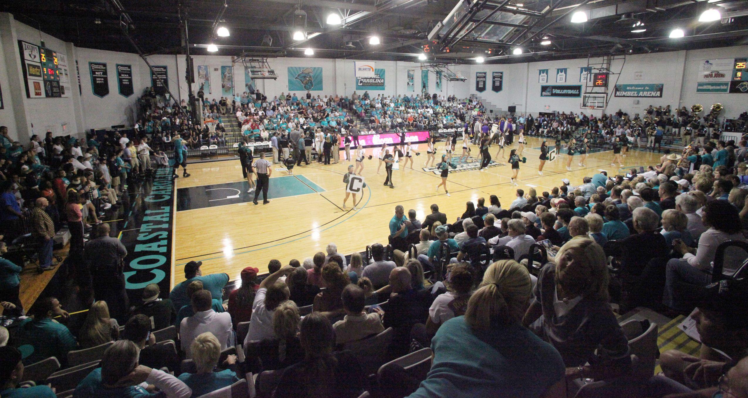 Kimbel Arena Former Home Of Volleyball Men And Women S Basketball Oh The Good Times We Share Coastal Carolina University Womens Basketball Coastal Carolina