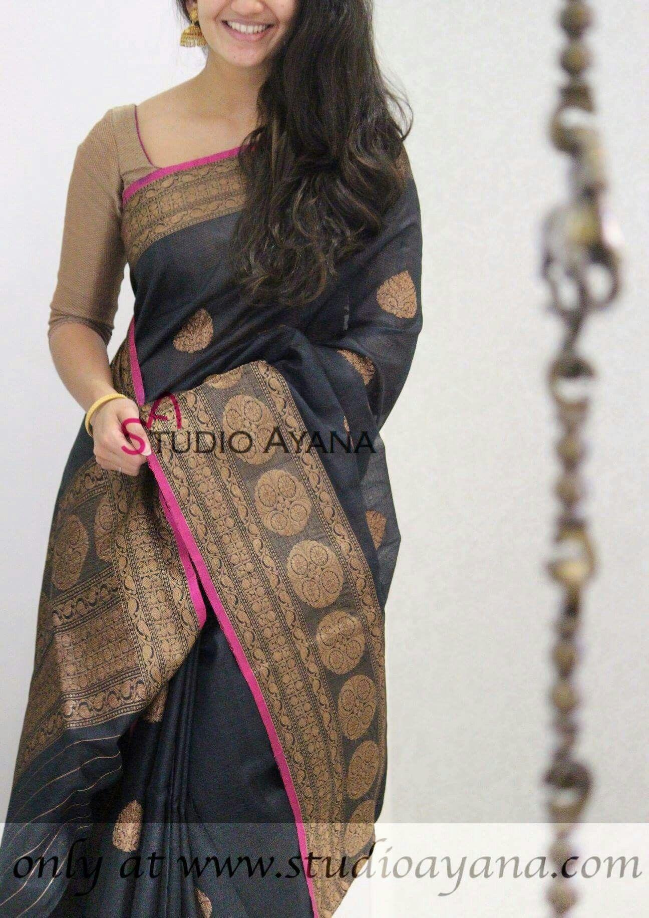Saree blouse design new pin by abarna gi on sarees  pinterest  saree blouse designs and saris