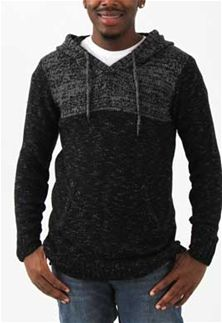 a37dbf0a7c Retrofit+Color+Block+Hooded+Sweater+for+Men+in+Black+SYR8-4140H-BLACK