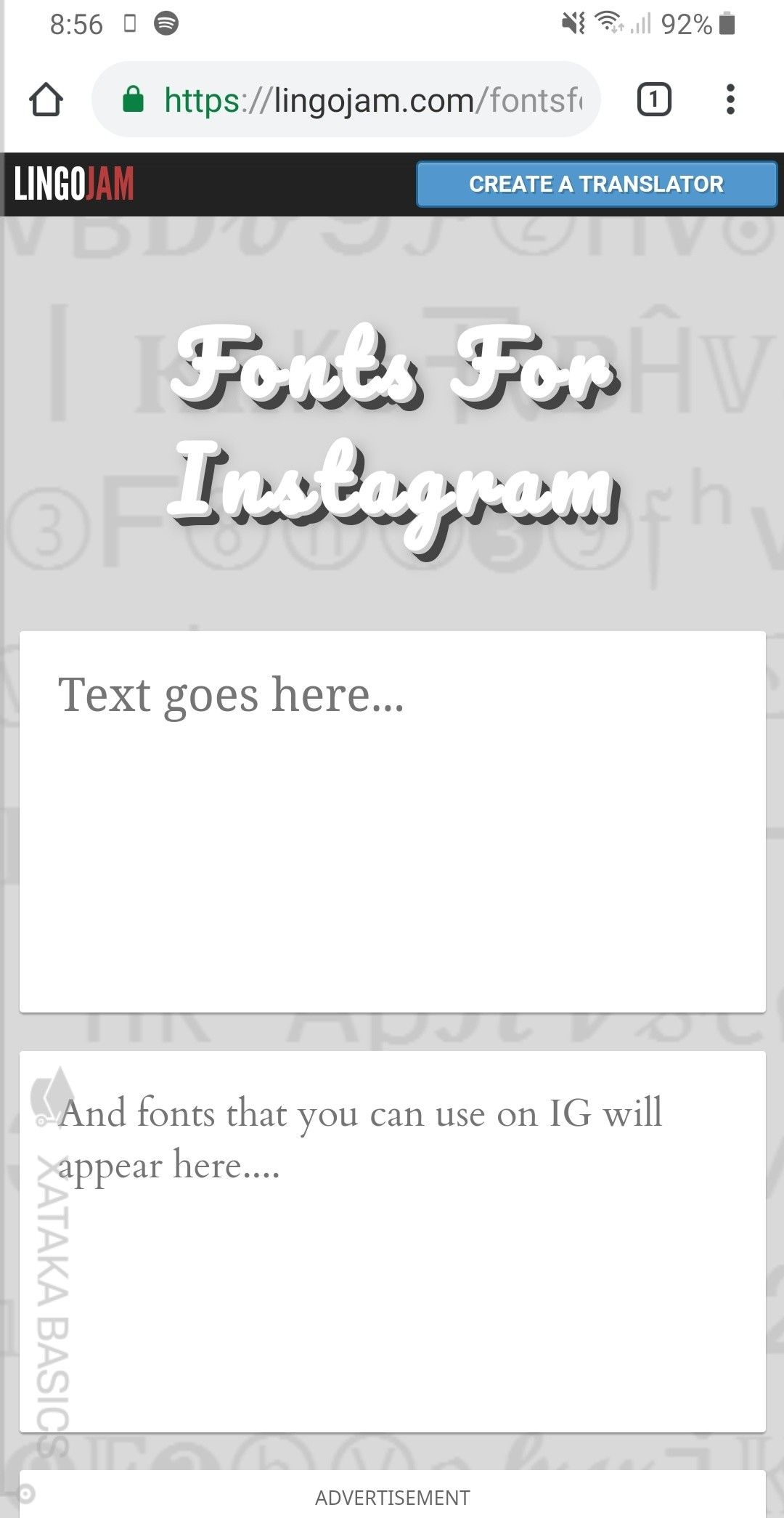 Cómo Poner Un Tipo De Letra Diferente En Instagram En Tu Nombre De Perfil Y Biografía Instagram Instagram Story Texts