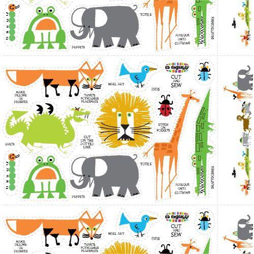 Ed Emberleys Drawing Book Of Animals