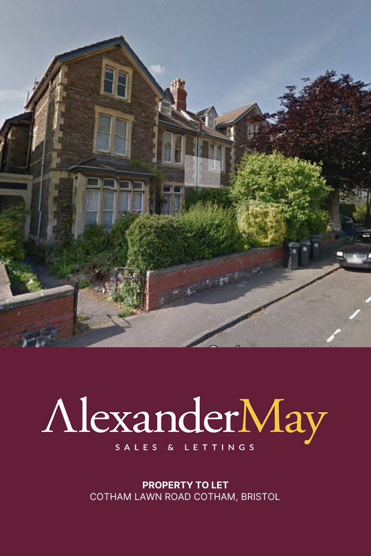 𝗣𝗿𝗼𝗽𝗲𝗿𝘁𝘆 𝘁𝗼 𝗟𝗲𝘁 Cotham Lawn Road Cotham, Bristol. Monthly