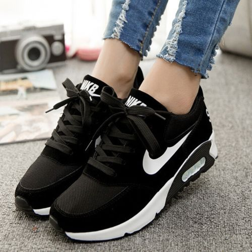 New-Womens-Smart-Casual-Fashion-Shoes-Breathable-Sneakers-