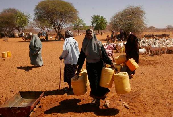 Guerra del agua en Kenia