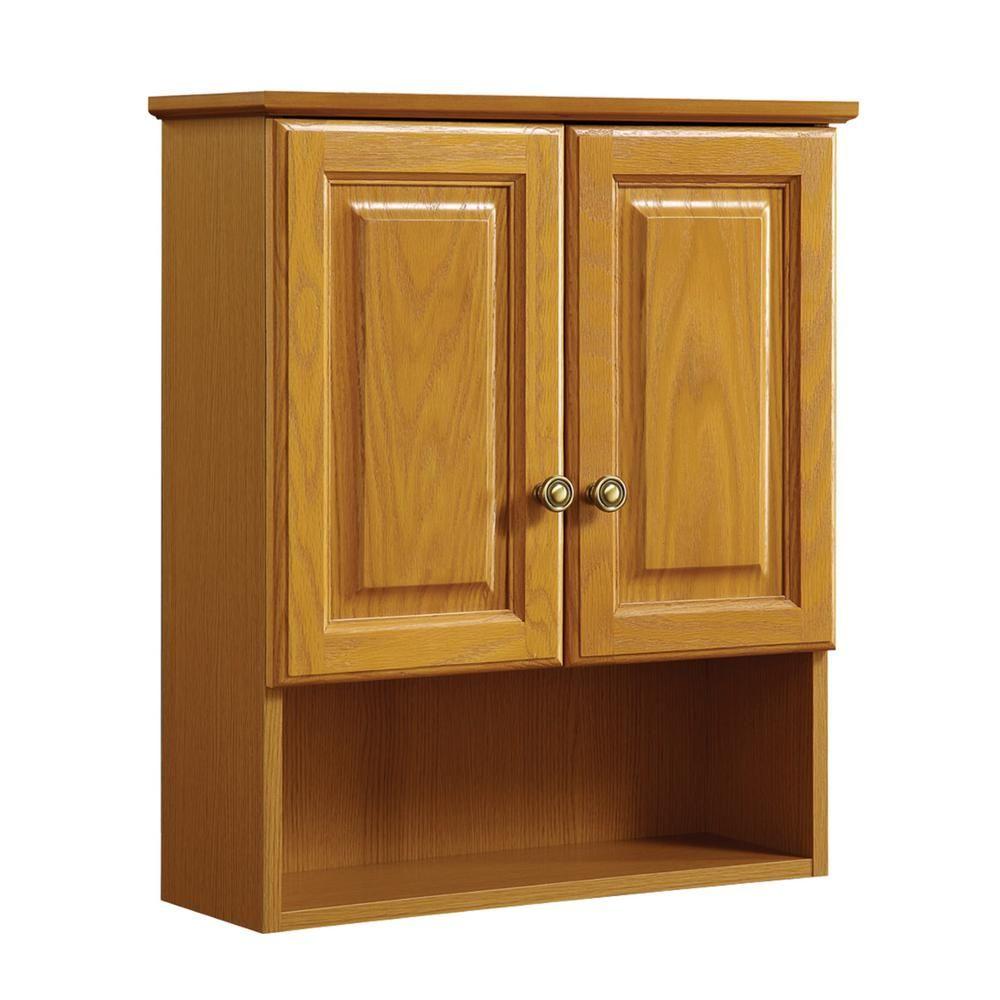 32+ Bathroom wall cabinet in oak custom