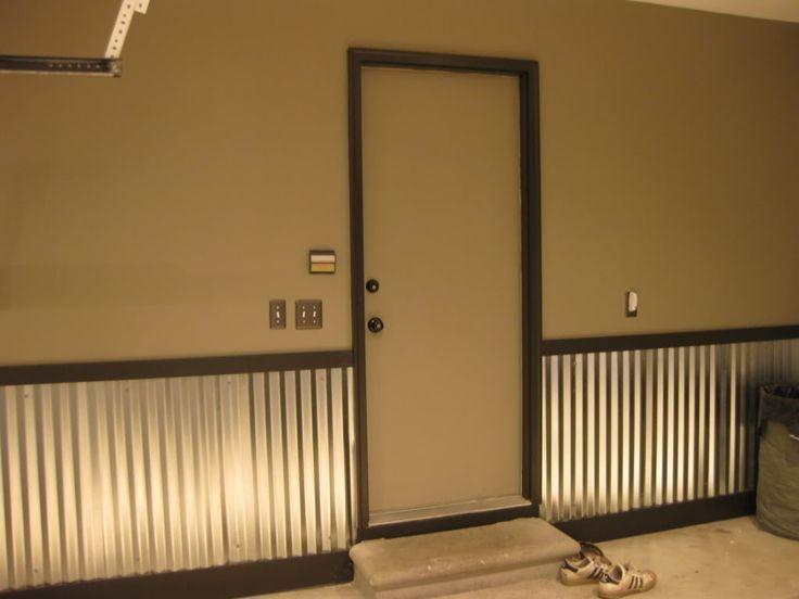 Best Corrugated Metal Wainscoting Corrugated Metal Walls Garage 400 x 300