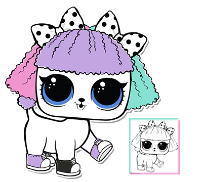 Pupsta Series 3 Wave 2 L O L Surprise Doll Pets Lol Dolls Coloring Pages Cute Drawings