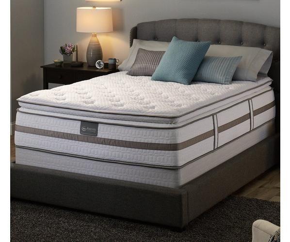 Serta Iseries Norhill Super Pillowtop Mattress Mattress Pillow Top Mattress Bed Mattress