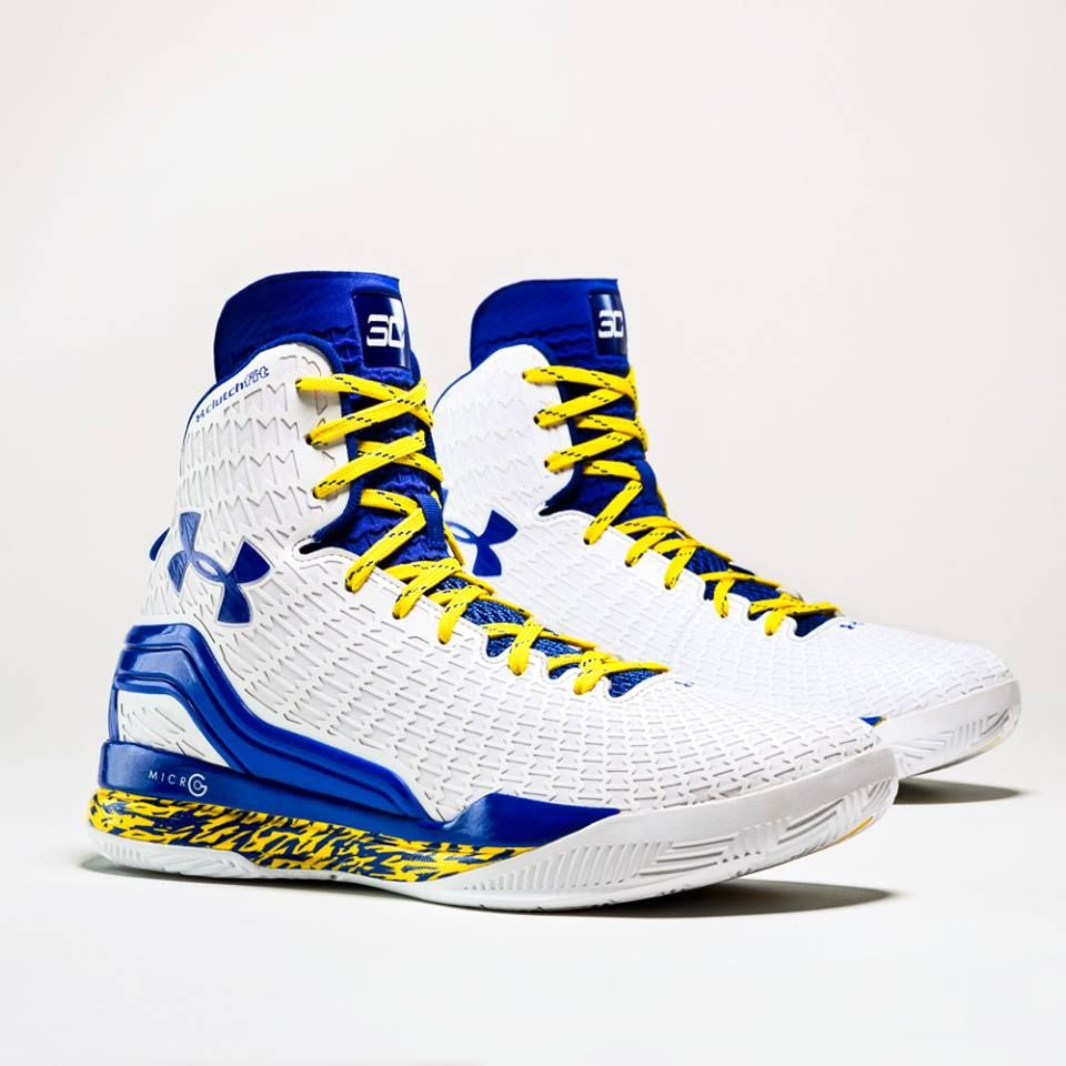 promo code 7e3ee 8046b Stephen Curry s Home and Away ClutchFit Drive PEs