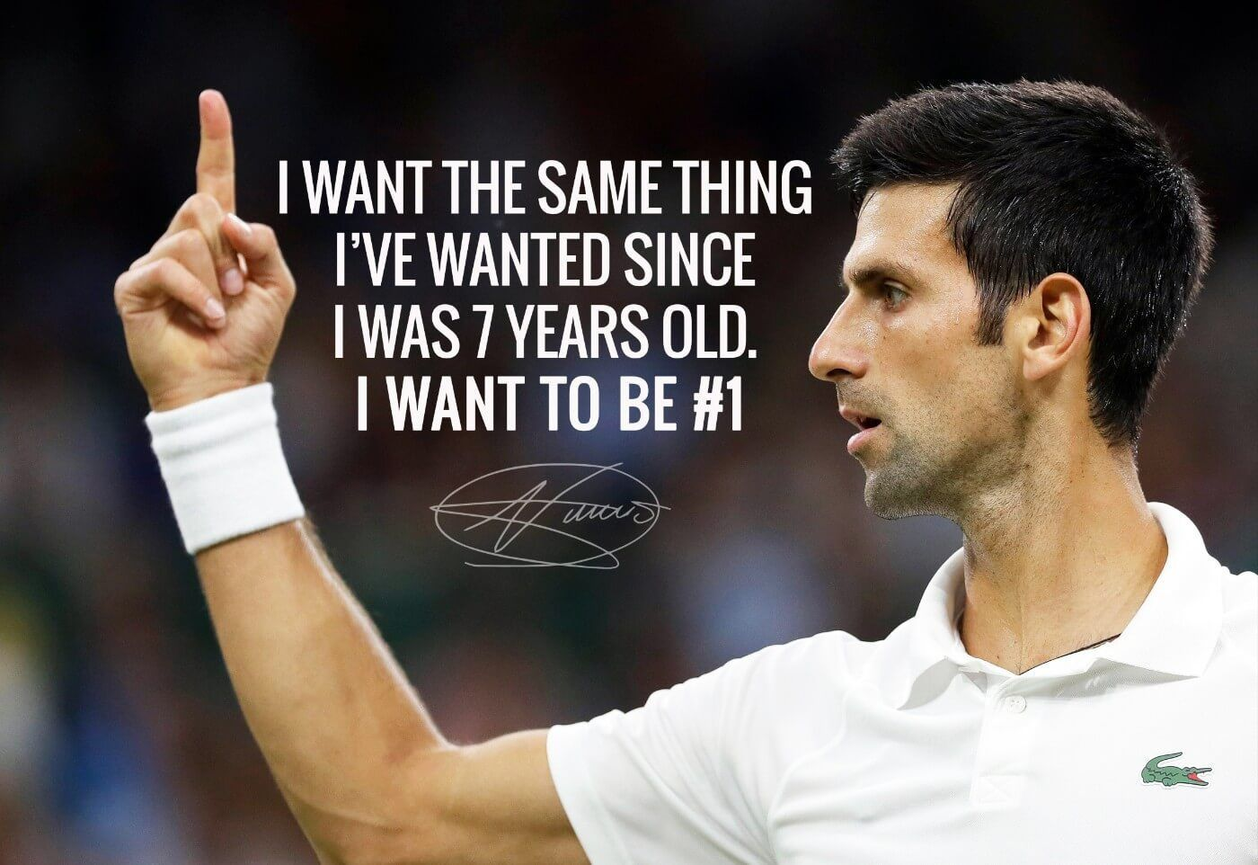 Tennis Quotes Novak Djokovic Quotes Motivational Quotes Atp No 1 Tennis Quotes Tennis Player Quote Novak Djokovic