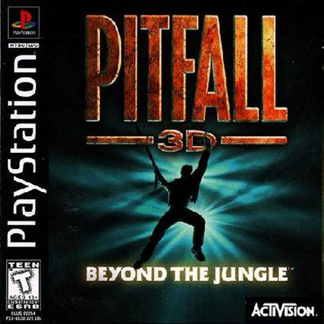 Comprar Jogos Ps 2 Xbox 360 Dvd Xbox360 Playstation 2 Ps2: Jogo PITFALL 3D BEYOND JUNGLE Para PlayStation PSX PS1