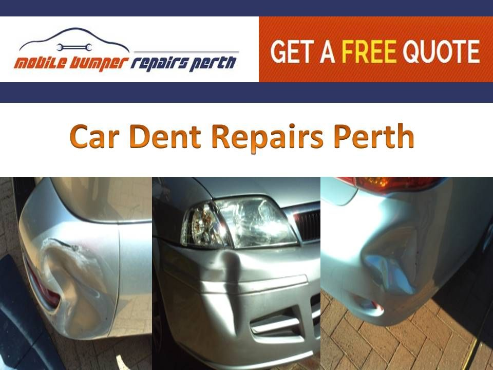 Colortech Systems Wangara Specializes In Offering Mobile Bumper Repairs In Perth We Undertake All Paint Repair Re Bumper Repair Paint Repair Car Dent Repair