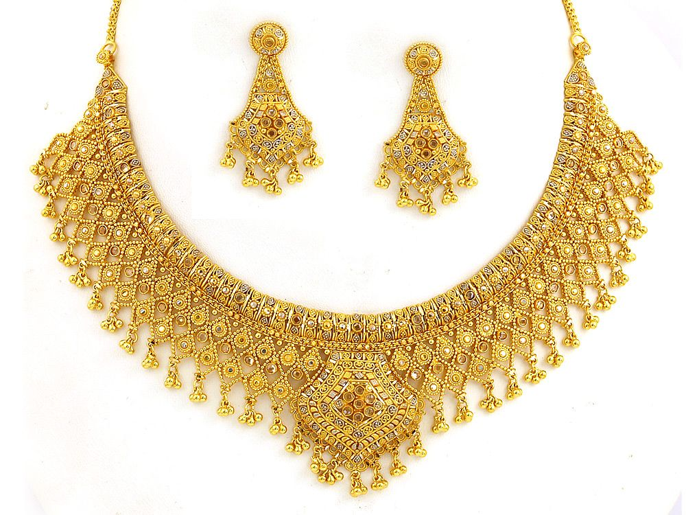 indian jewelry gold - Google Search | Esther | Pinterest | Indian ...