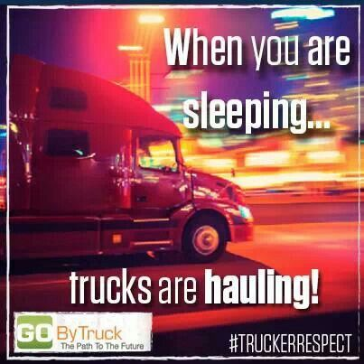 what do truck drivers do to stay awake