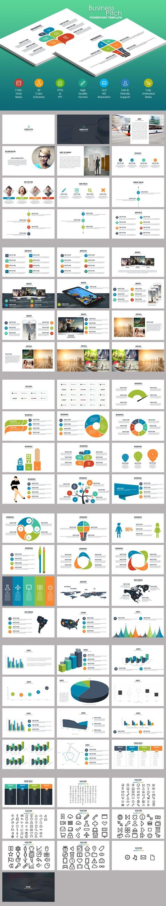 business infographic business pitch powerpoint template best