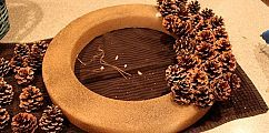 Free Pinecone Wreath #craftsaleitems