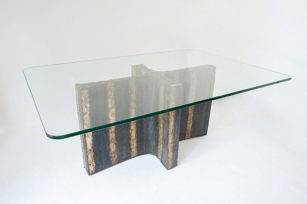 Welded Steel Dining Table   Paul Evans, Welded Steel Dining Table (1965)