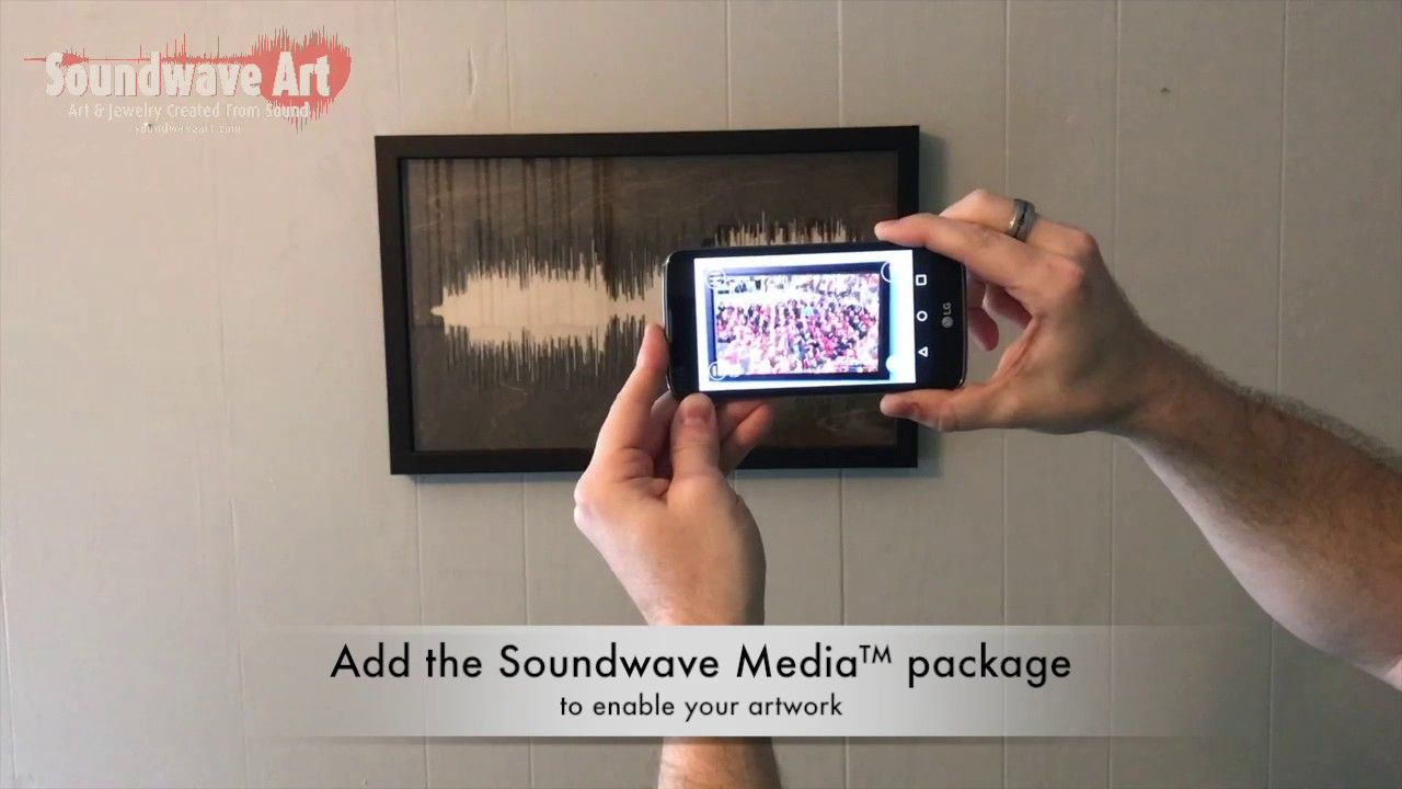 Soundwave Art™ app demo Sound waves