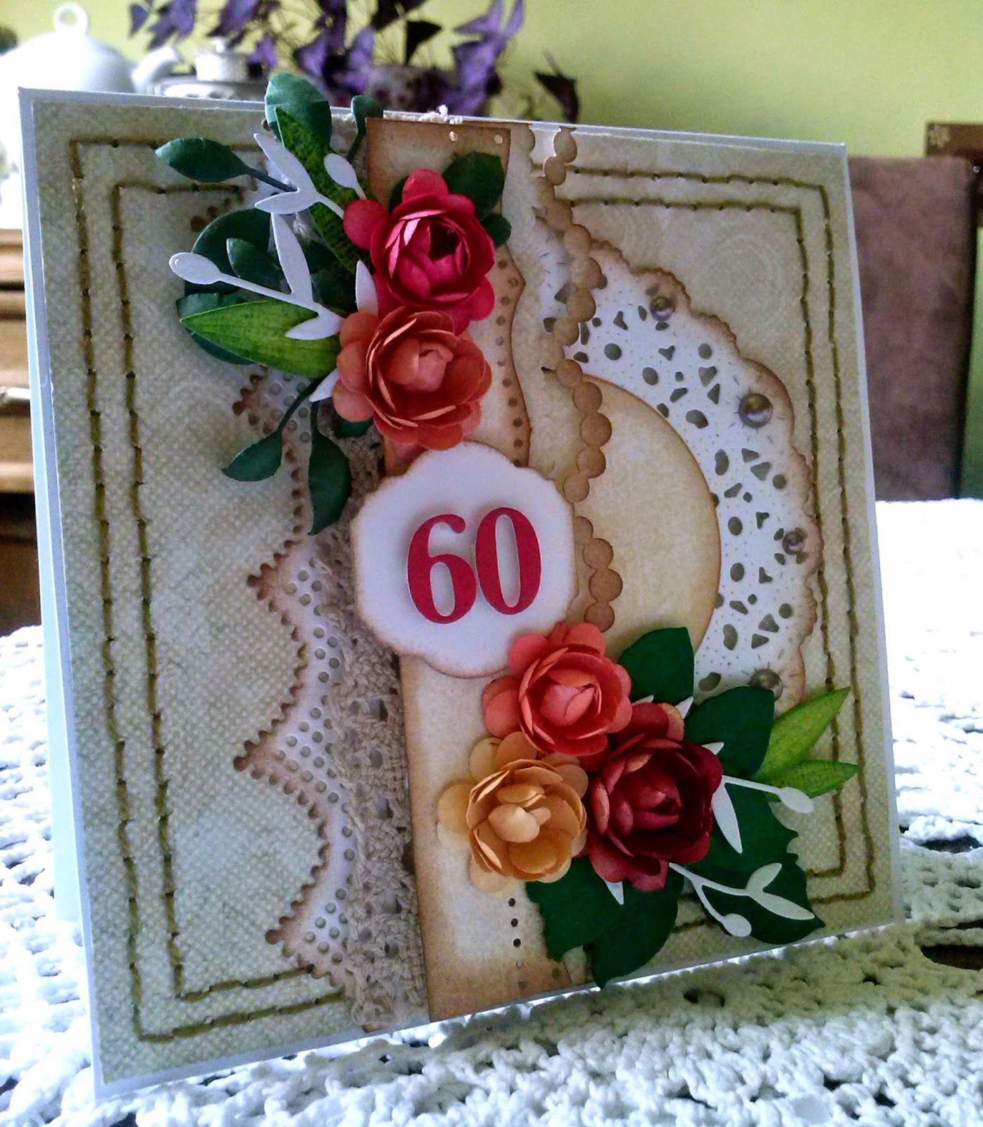 60 Lat Urodziny Urodziny 60 Urodziny Kartki Okolicznosciowe