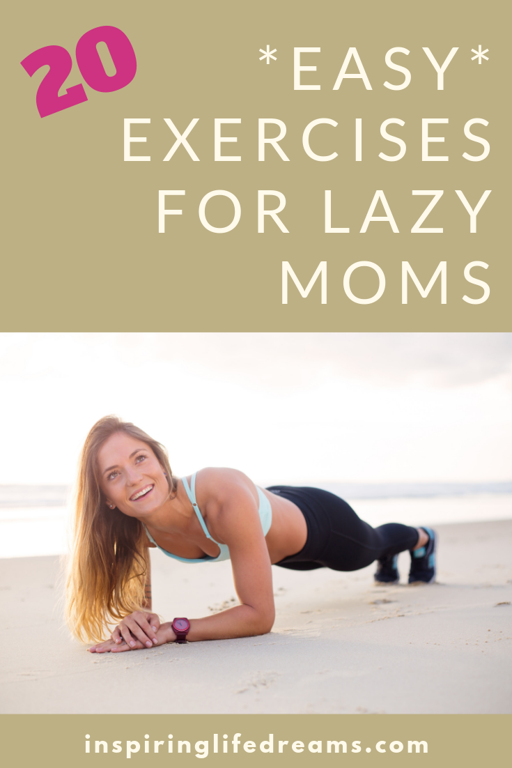 Easy Home Exercise Program Aka 20 1 Minute Exercises For Lazy People Busy Mom Workout Mom Workout Schedule Home Workout Schedule