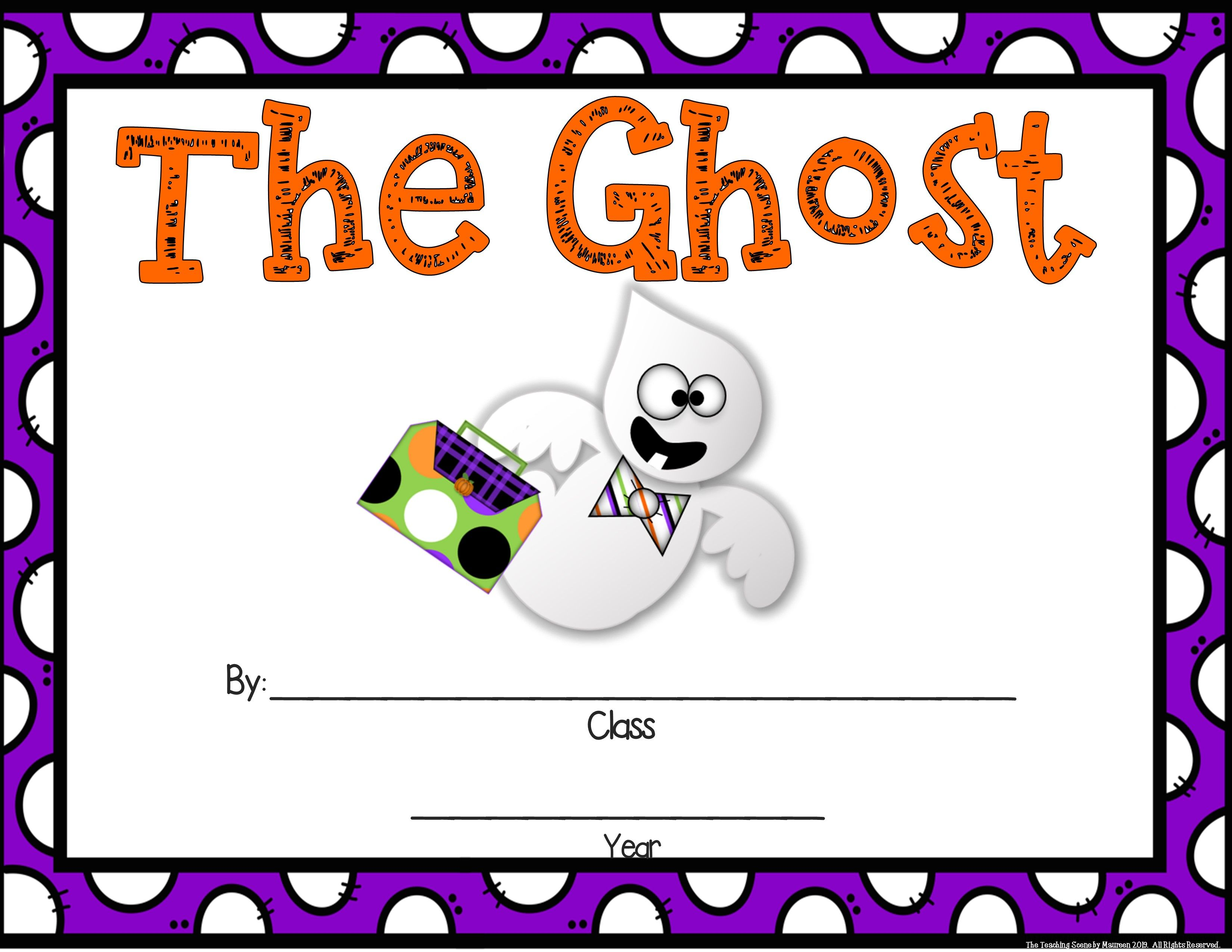 Ghosts Unit Activities Amp Centers For K 2nd Special