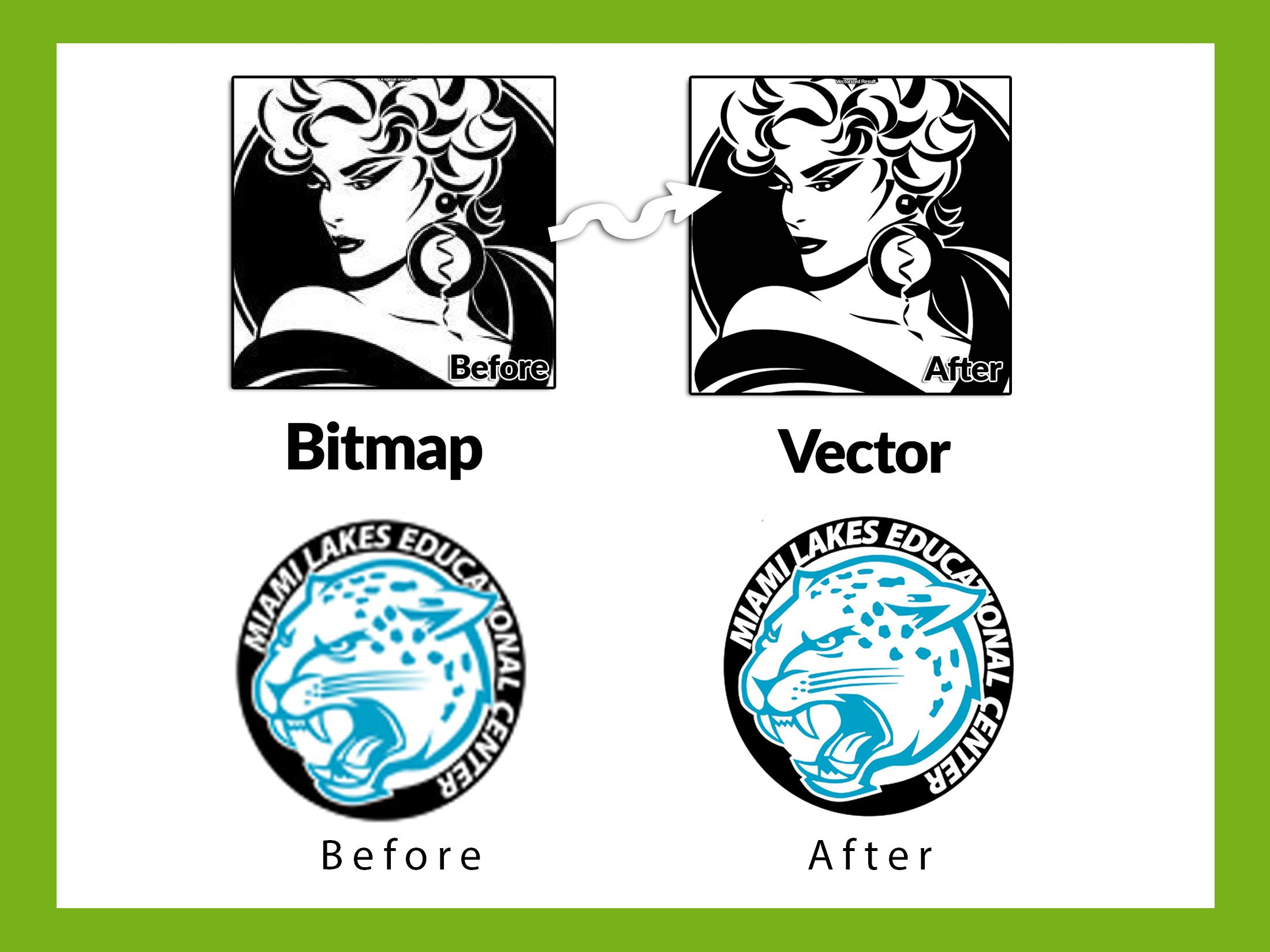 convert your Raster Graphic or Logo to vector trace within