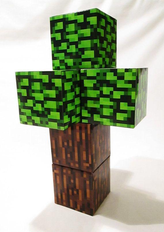Minecraft Birthday Party Centerpiece