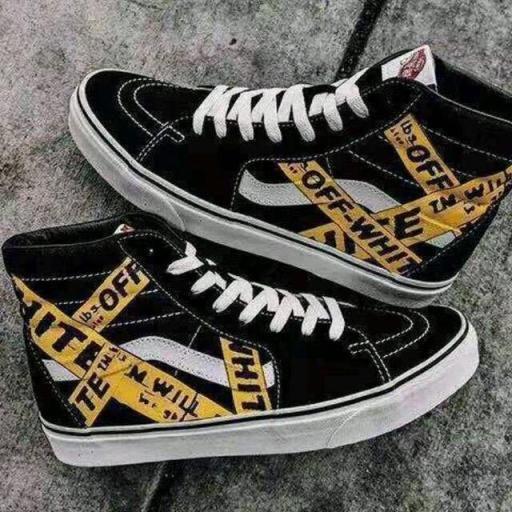 Vans x OFF White Sk8-Hi Classic Black