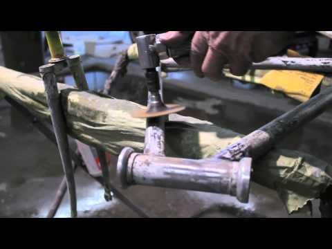 Locked In How To Paint Restore Your Bike Frame Part 1