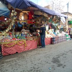 Marché yennayer à Sidi bel abbes