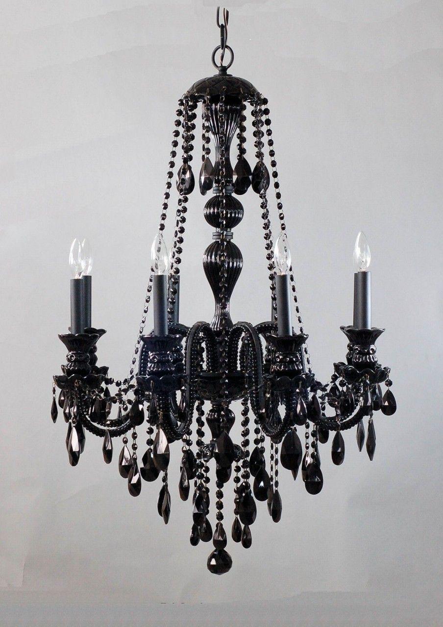 black chandelier | Lighting | Pinterest | Black chandelier ...