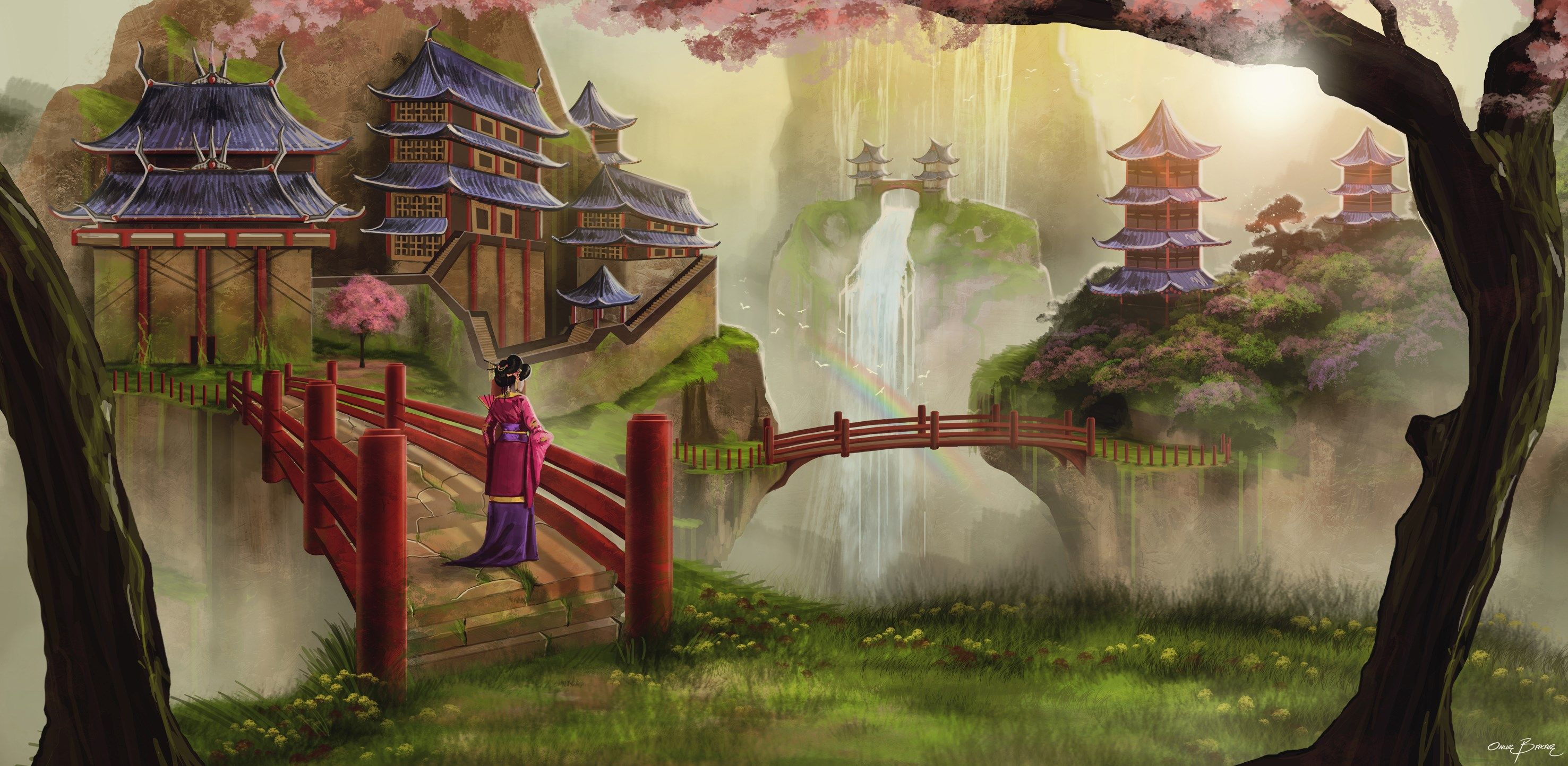 oriental wallpaper pack 1080p hd (Rhett Hardman 2953x1444 ...