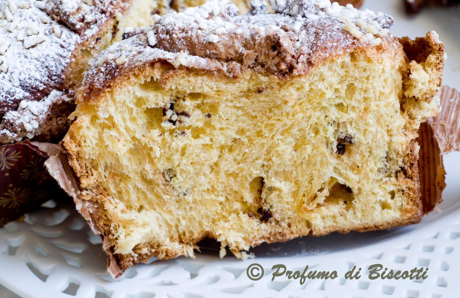 profumo di biscotti: COLOMBA CON GOCCE DI CIOCCOLATO - ricetta di Teresio Leoncini