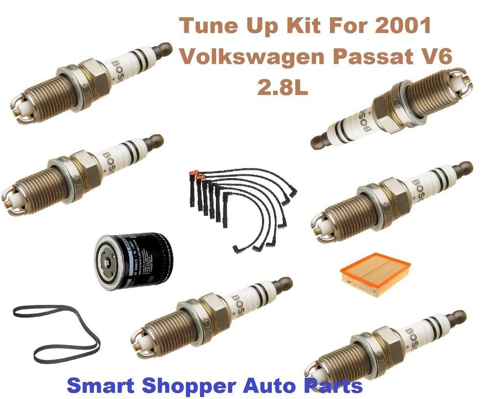 Details About Tune Up Kit For 2001 Volkswagen Passat Oe Spark Plug
