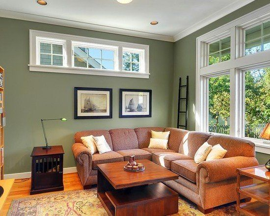 Living Room Ideas With Brown Furniture Sage Green Living Room