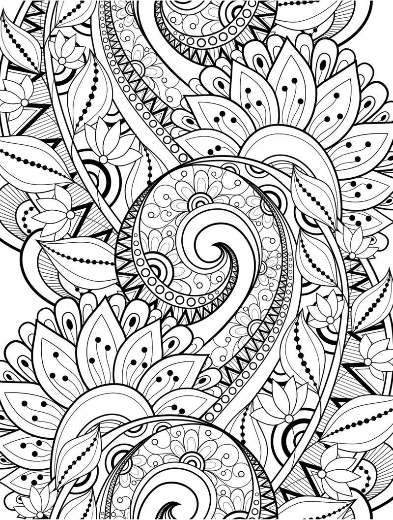 Pin Di Plants Images Coloring Collection