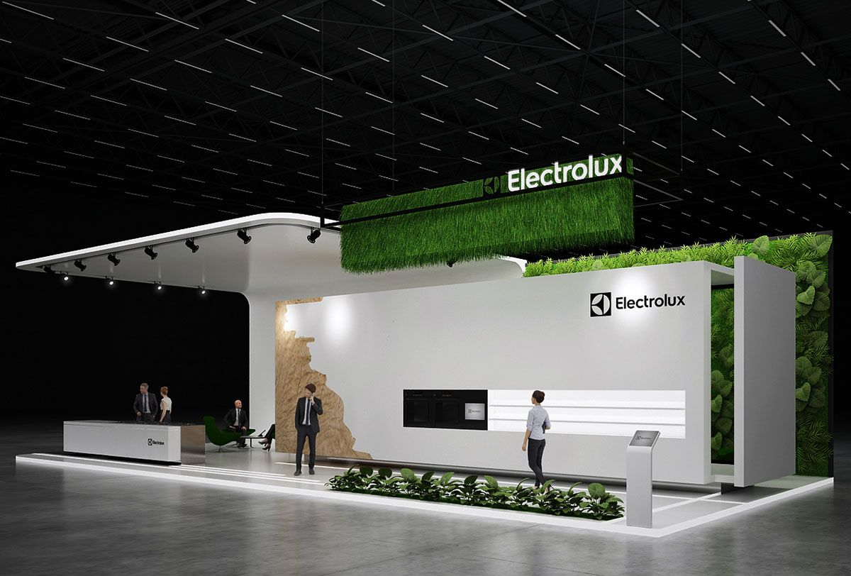 Electrolux Exhibition Stand Design Gm Stand Design Exhibition