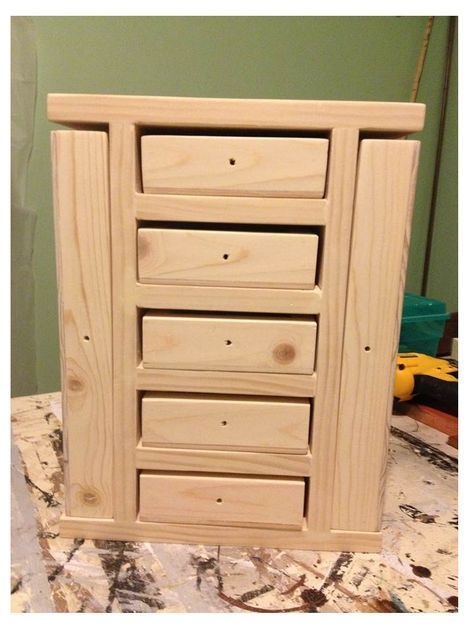 Ana White Build a Fancy Jewelry Box Free and Easy DIY Project
