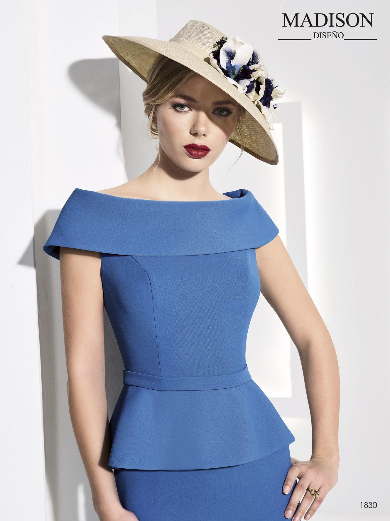 Vestido de fiesta elegante de Madison Diseño Colección 2018 #vestido ...