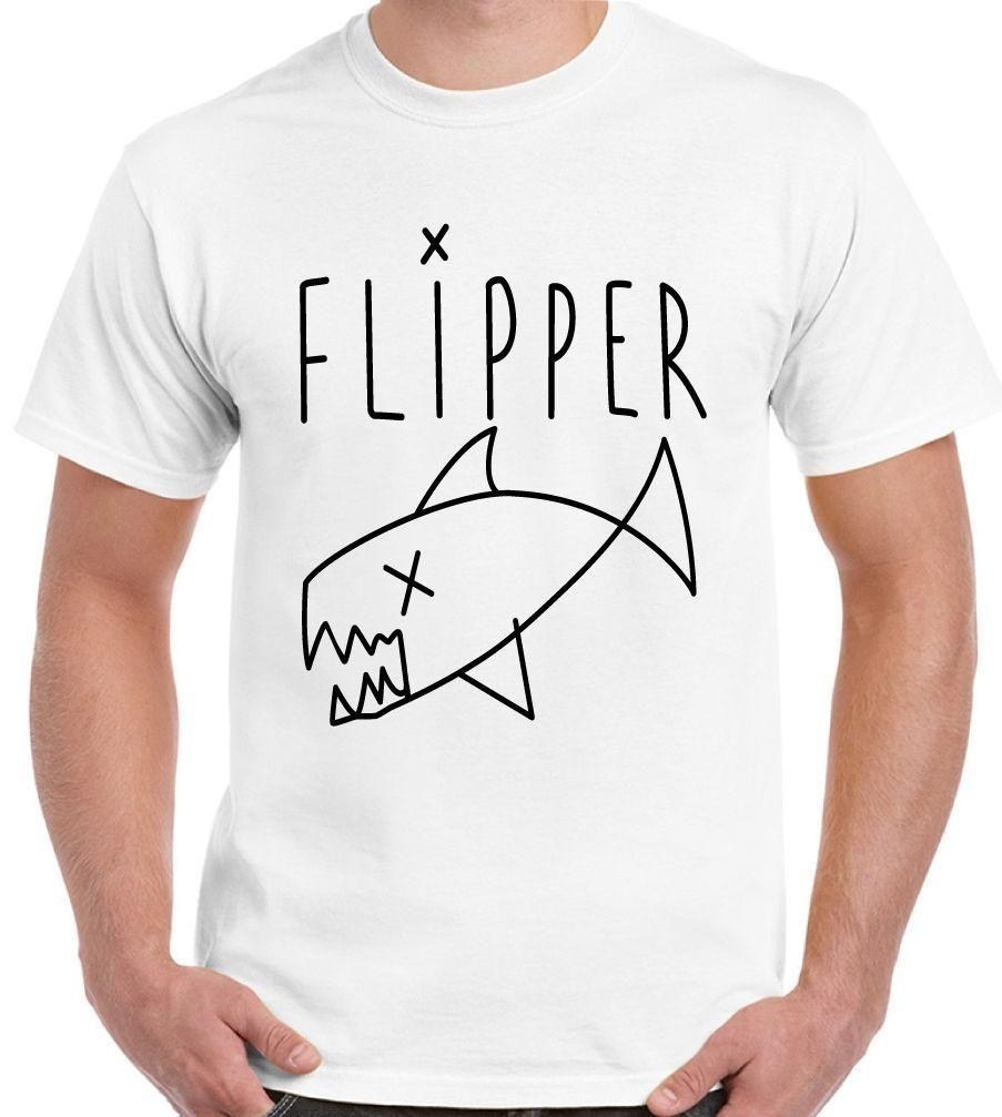As Worn By Kurt Cobain Flipper Mens T-Shirt Nirvana Grunge