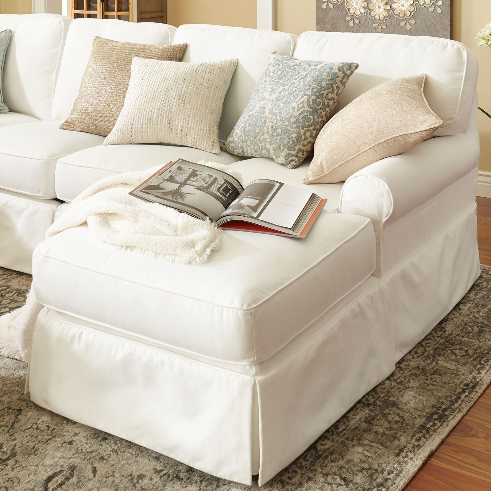 Lia Pierformance White Slipcovered 2