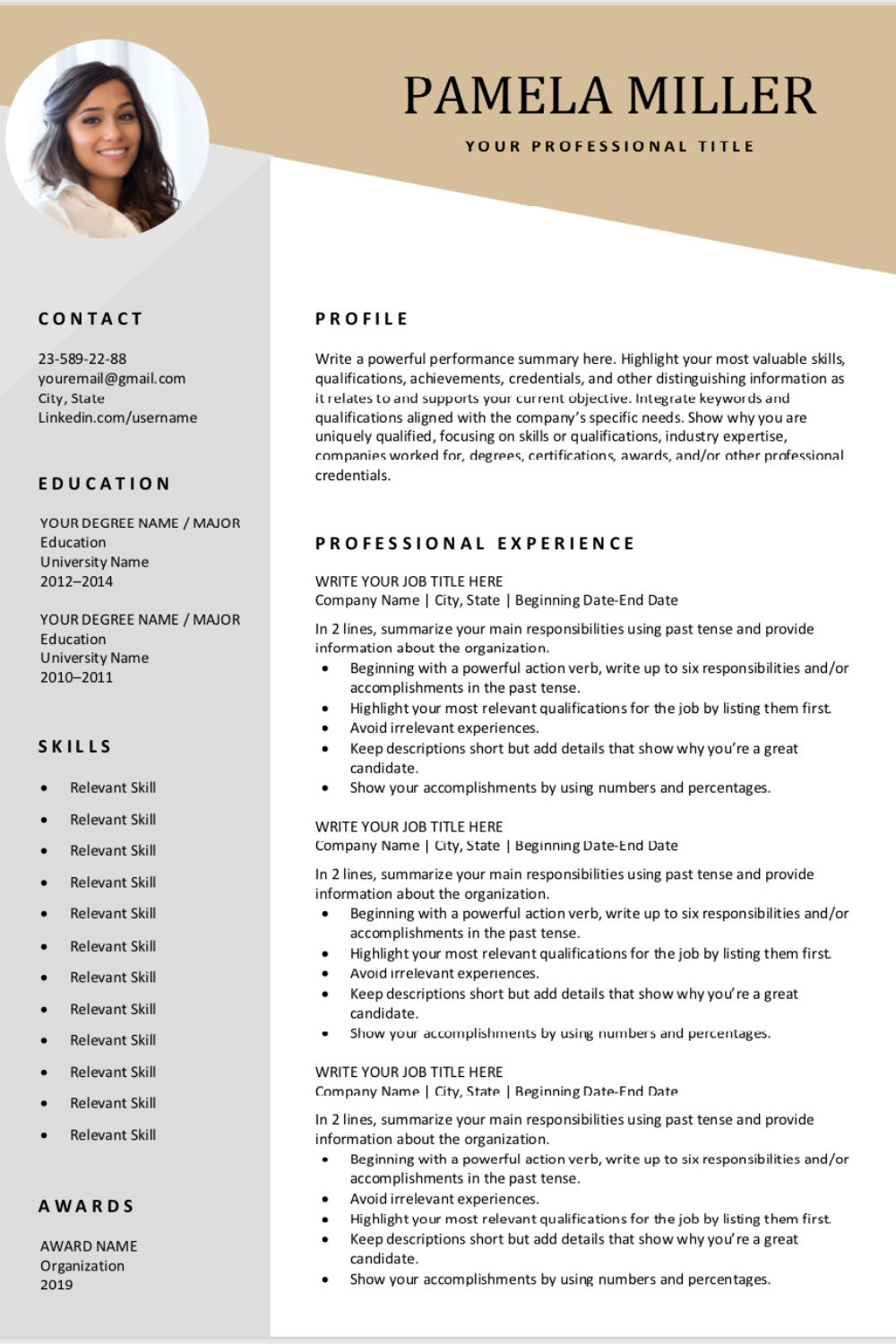 Looking For A Free Editable Resume Template Sign Up For Our Job Search Tips A Downloadable Resume Template Free Resume Template Download Resume Template Free